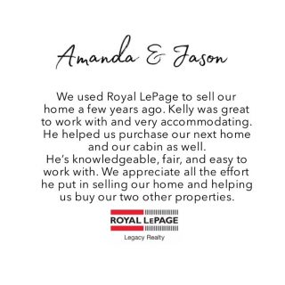Testimonial time ✨ Amanda & Jason we're so much fun to work with. They knew what they wanted and we were able to help them achieve their goals!