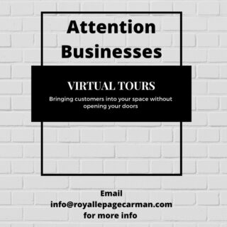 〈 ATTENTION BUSINESSES 〉 We want to help by allowing customers to tour your space while your doors are closed. We know your business is extremely valuable to the community and want to help showcase that! Send us a DM or email us today!