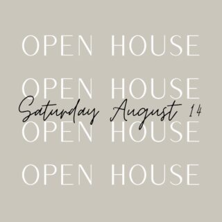 Today's Open House lineup. Come by for a visit!   Pick up one of our Open House Cards and get us to initial it at each open house you visit! Once you've been to 8 you get a $10 Syl's gift card!!