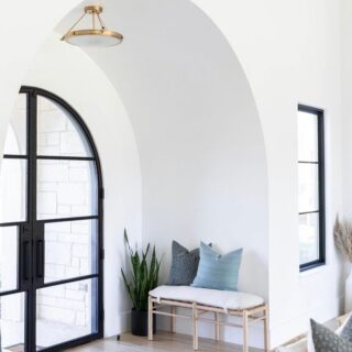 FYI… there is no need to fill every blank space on your walls with frames & photos 😊 Potential buyers often love seeing a blank slate they can picture themselves in.
