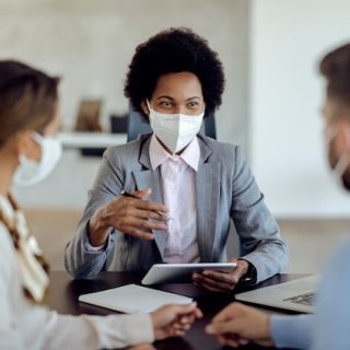 Face masks are required for all staff & clients during indoor property showings and meetings. Our goal is to keep our staff and our community safe while still being able to serve you in the best way we can! #sellingsafely #realestate #staysafe