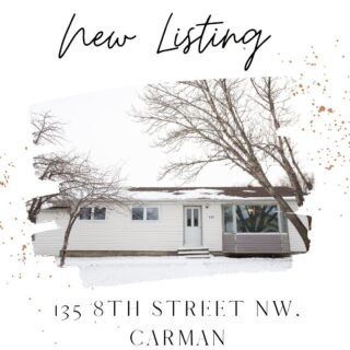 N E W L I S T I N G Check out this great one level home in Carman Open concept, updates throughout, fenced in yard & much more! $233,000