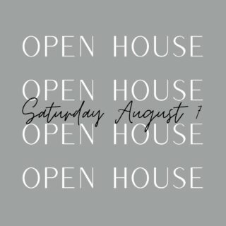 Join us tomorrow for these 3 great Open Houses!