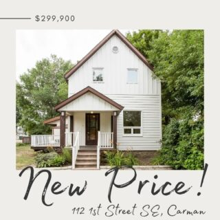 N E W  P R I C E !! Check out this completely remodelled home in the heart of Carman!