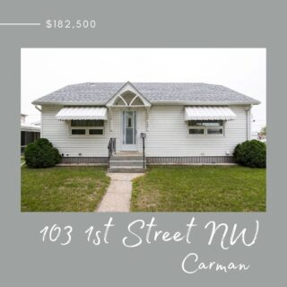 NEW LISTING!!  Very cute and solid home with the potential to serve you very well. Straight and strong, this home has been well maintained and features three bedrooms on the main floor with basement development possibilities if you need. Book your appointment today!